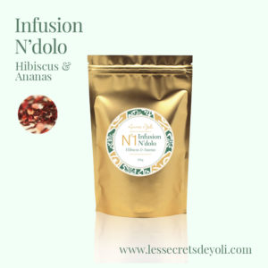 Infusion hibiscus ananas