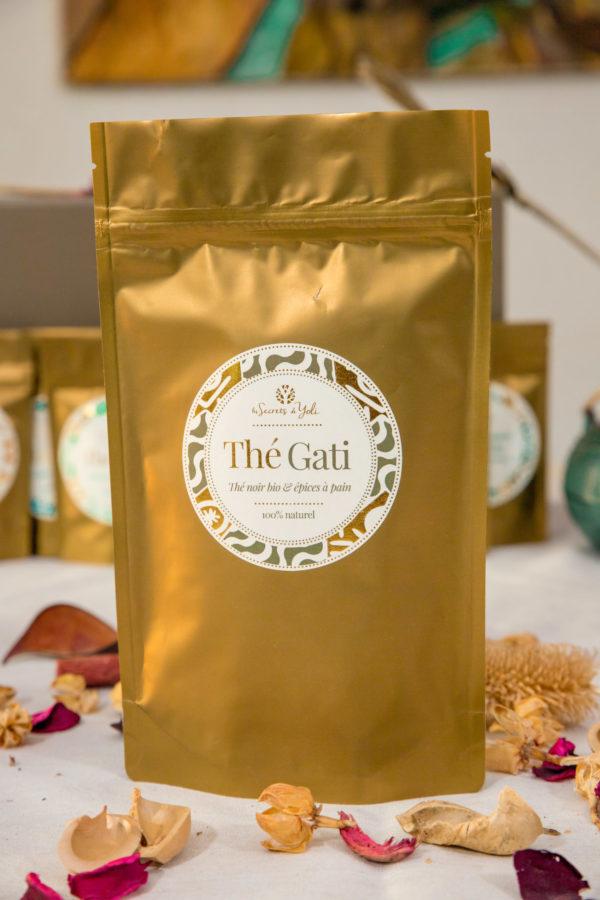 Thé noir bio à l'épice à pain - Thé GATI