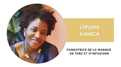 Lidvyne Kamga Fondatrice de la marque des thés et infusions LSY