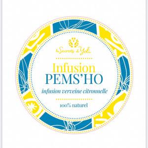 Infusion verveine citronnelle - PEMS'HO